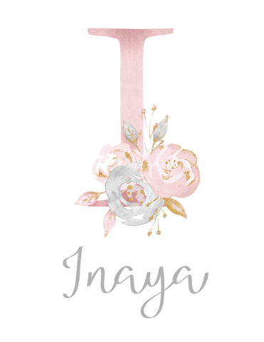 Girls Custom Name Print