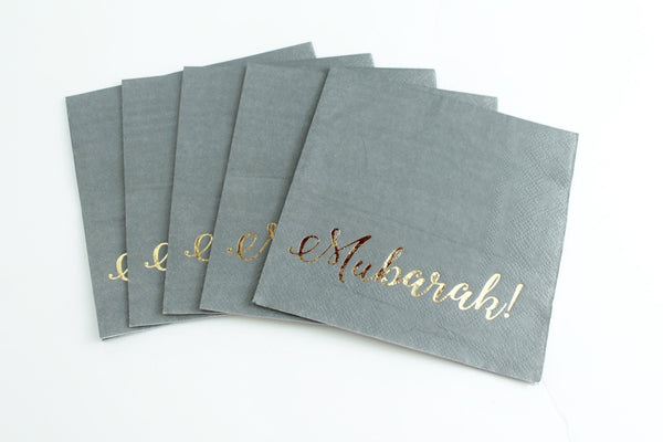 Smoky Gold Napkins