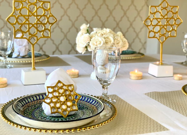 Arabesque Tabletop Decor