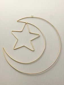 Moon & Star Wall Decor