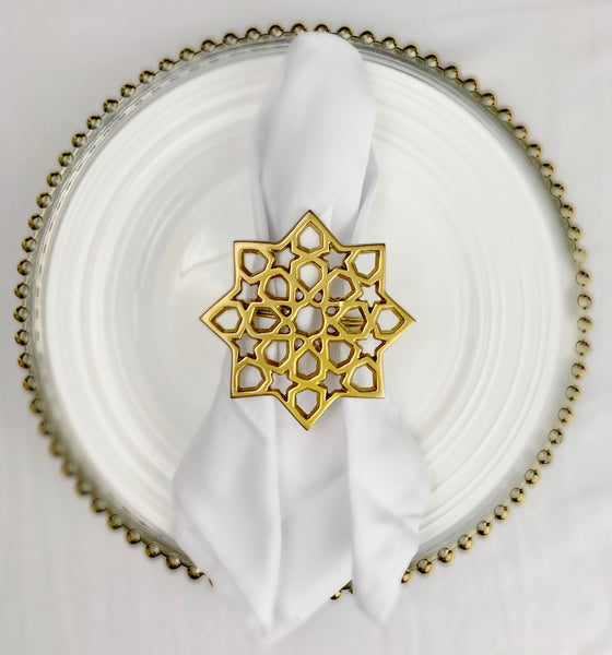 Arabesque Napkin Ring