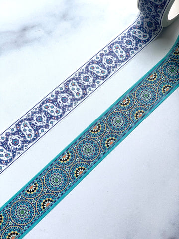 Iznik & Moroccan Washi Tape Bundle