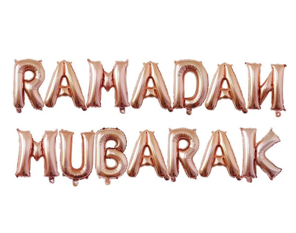 Ramadan + Eid Mubarak Balloon Bundle