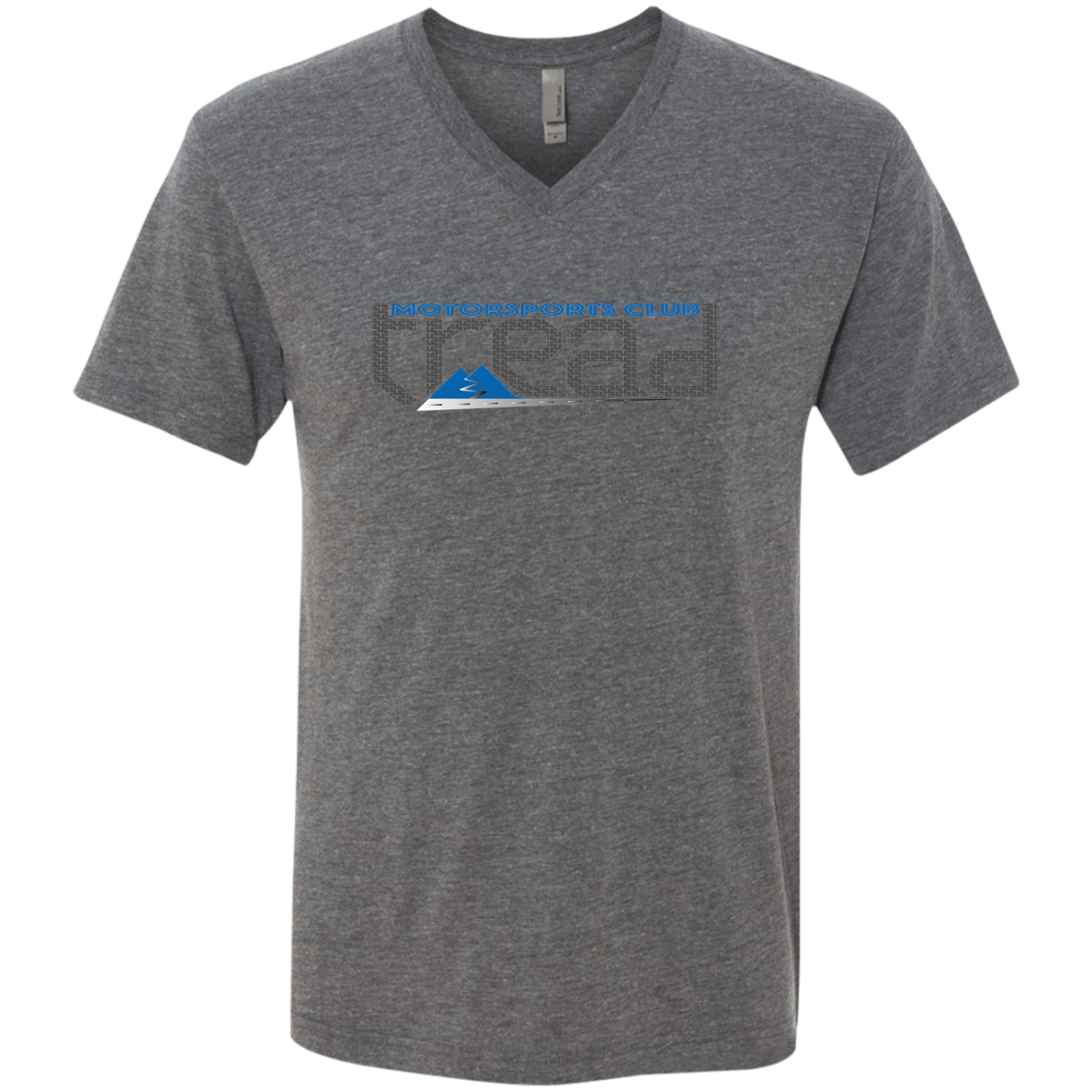 TREAD DESIGN | Motorsports Club Triblend V-Neck T-Shirt
