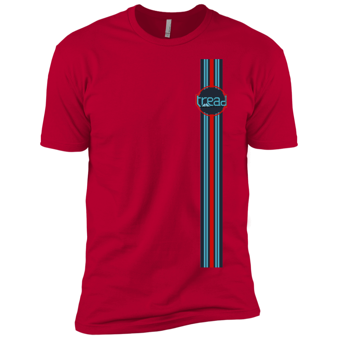 TREAD DESIGN | MARTINI F1 RACING homage  Premium Short Sleeve T-Shirt