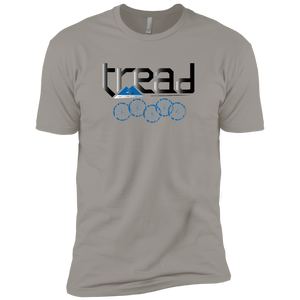 TREAD DESIGN | Blue Logo Premium Short Sleeve T-Shirt