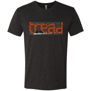 TREAD DESIGN | Tracks Men's Triblend T-Shirt