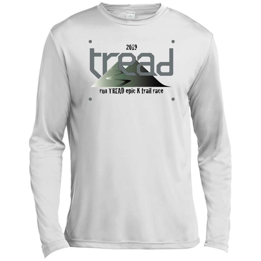 TREAD DESIGN | BIB Number LS Moisture Absorbing T-Shirt
