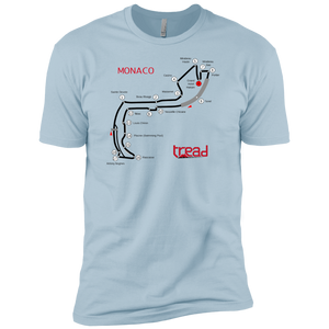 TREAD DESIGN | Circuit de Monaco Premium Short Sleeve T-Shirt