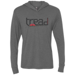 TREAD DESIGN | The Logo Triblend LS Hooded T-Shirt