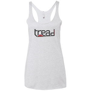 TREAD DESIGN | The Logo Ladies' Triblend Racerback Tank