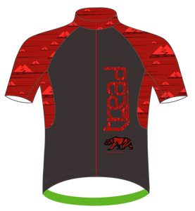 TREAD DESIGN | CALIFORNIA Cycling Jersey RED