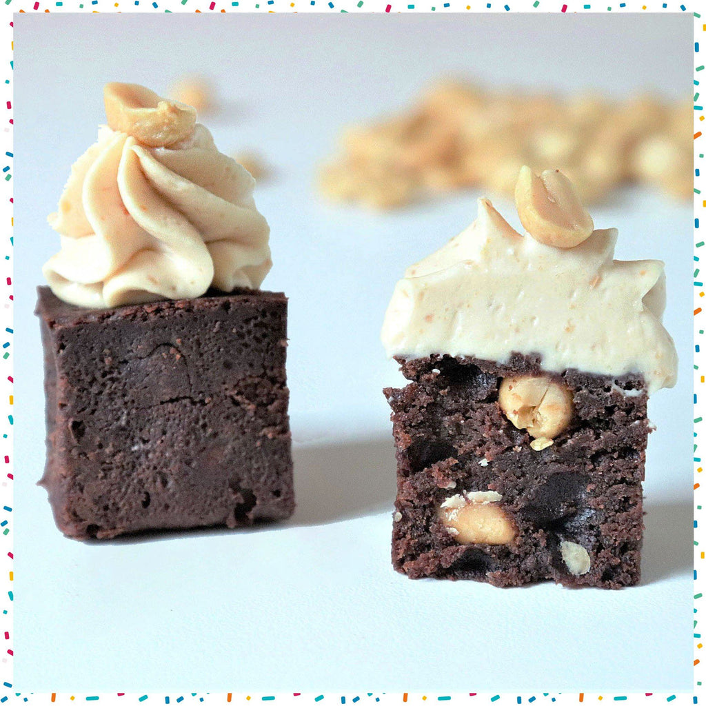 BROWNIE CACAHUÈTES (25 BOUCHÉES )