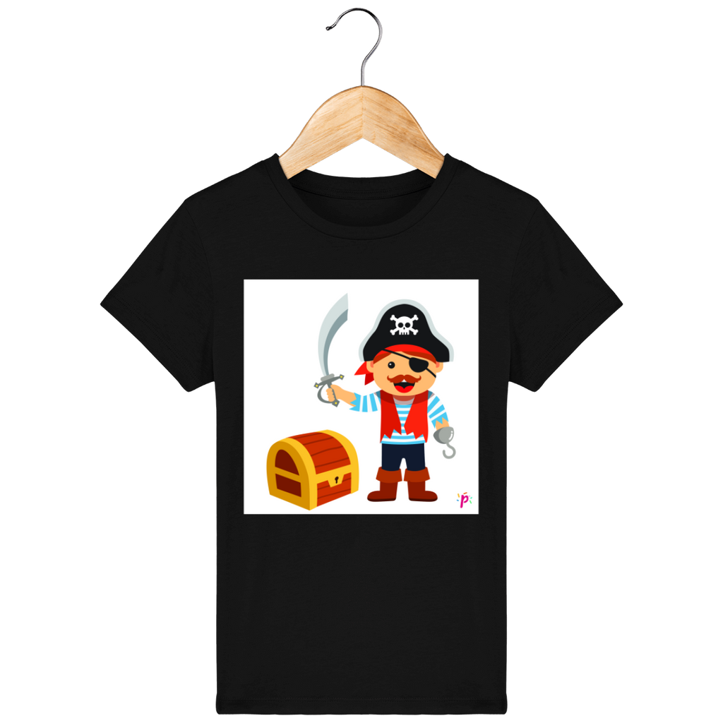 Tee Shirt Enfant Bio - Pixcake the original...Le 1er Puzzle gourmand