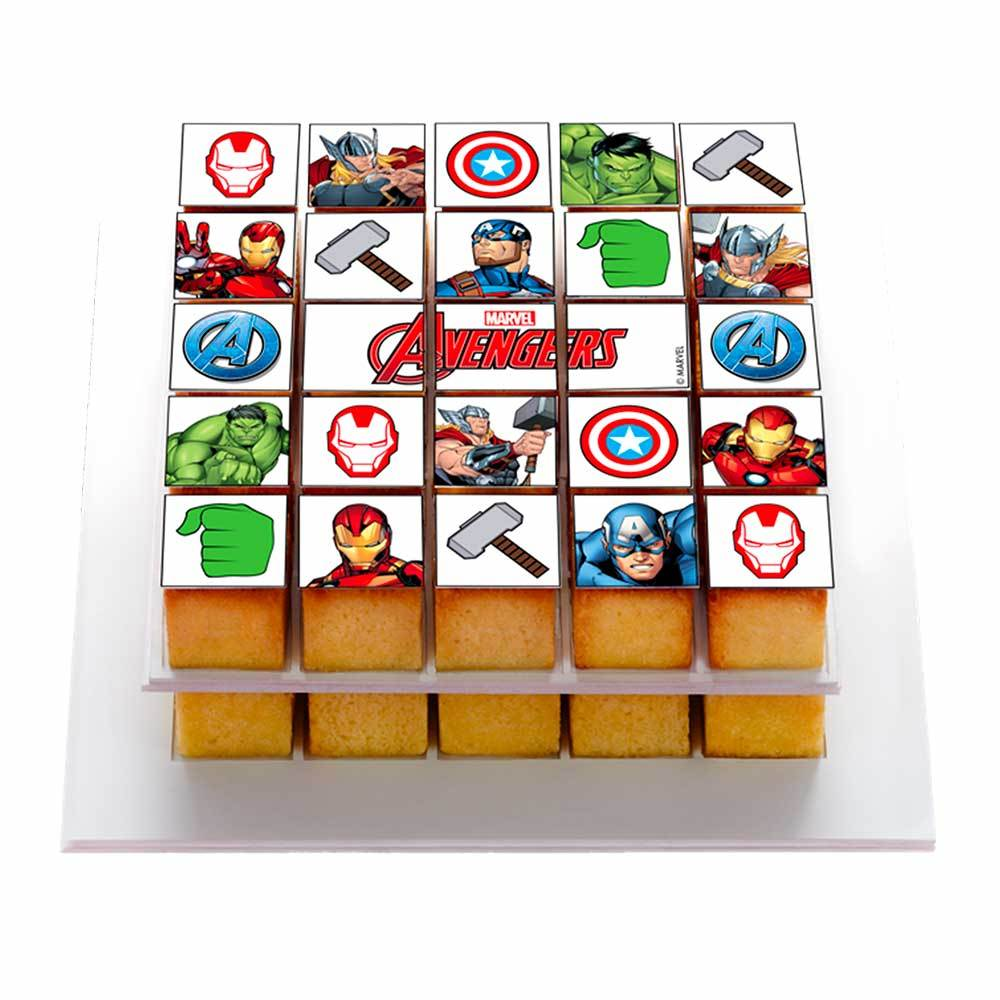 Box Avengers - Pixcake the original...Le 1er Puzzle gourmand