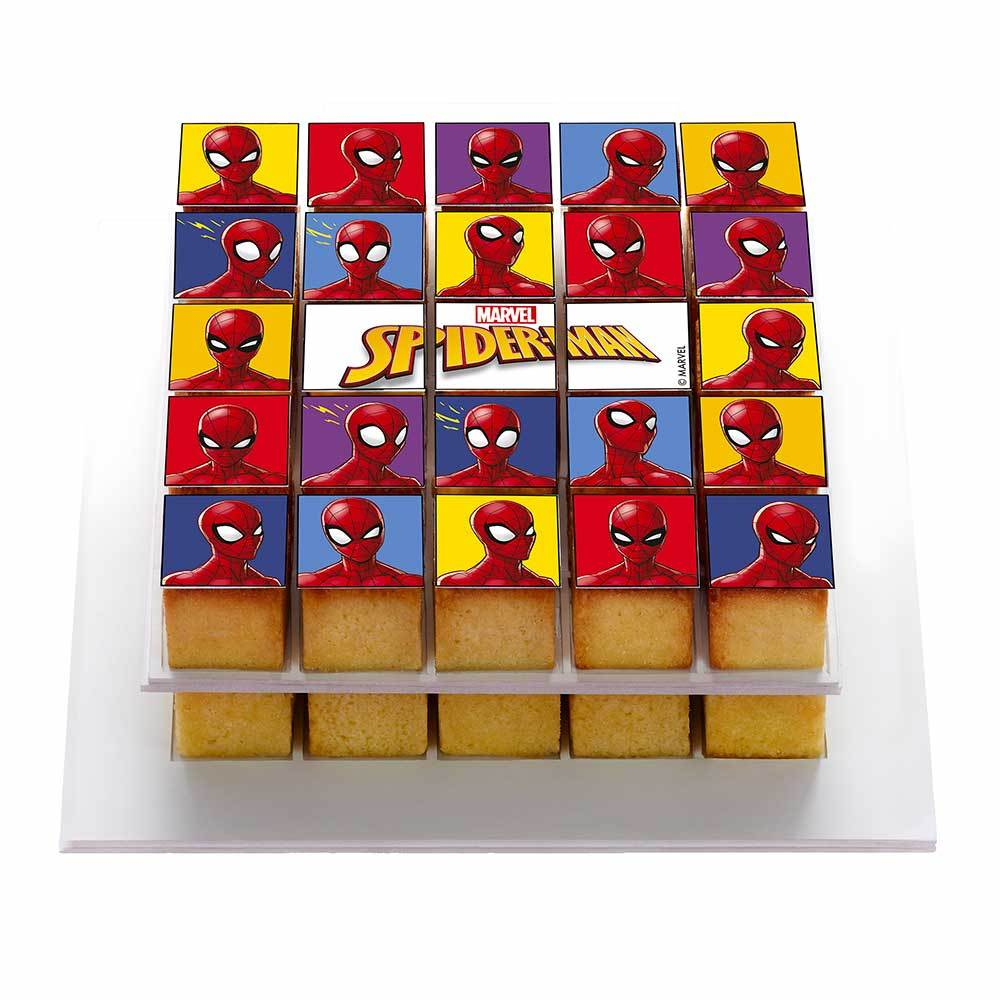 Box Mary Poppins - Reusable kit for a quick and easy personalized cake! Spiderman Pixcake