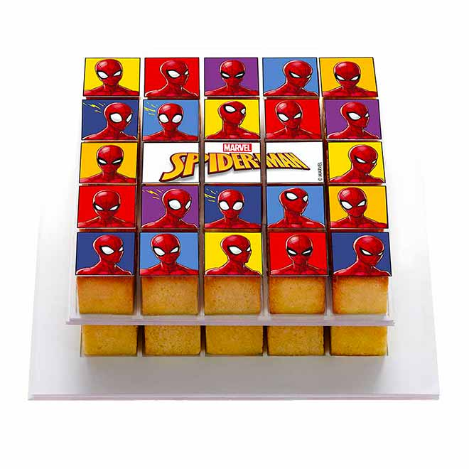 Box Spiderman - Pixcake the original...Le 1er Puzzle gourmand