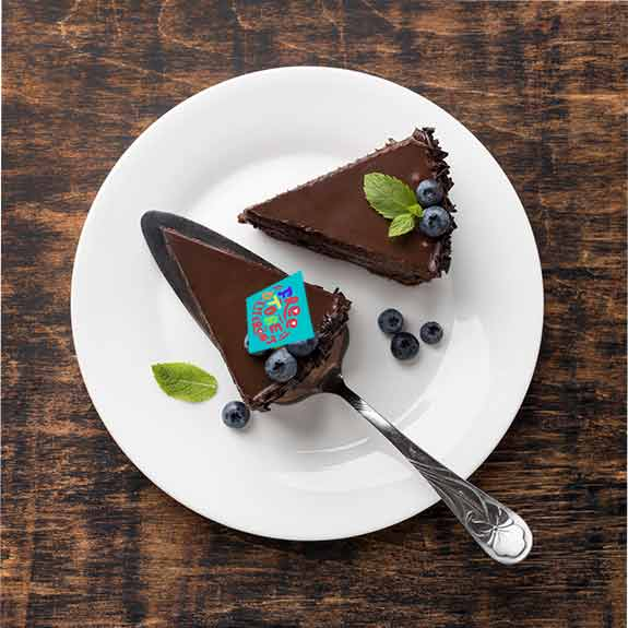 Free to be different - Décor à gâteau gourmand - Pixcake the original...Le 1er Puzzle gourmand