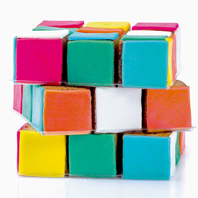 Box Cube en couleurs! - Pixcake the original...Le 1er Puzzle gourmand