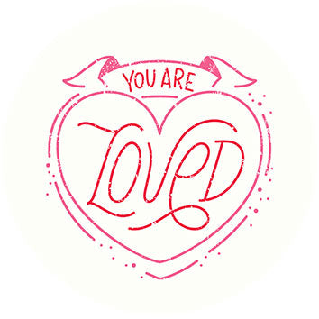 You are loved - Décor à gâteau gourmand - Pixcake the original...Le 1er Puzzle gourmand