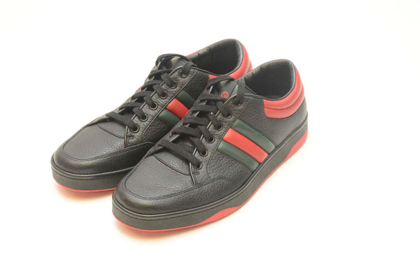 GUCCI BLACK & RED SHOE
