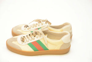 GUCCI LOW TOP CREAM