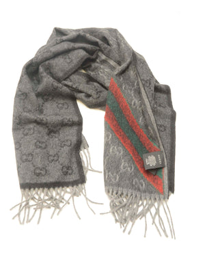 GUCCI GREY SCARF