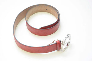 RED GUCCI BELT