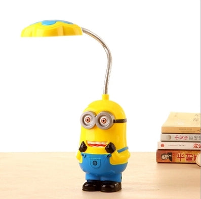 New Baby Boys Girls Despicable Me Flexible Table Lamp - minion.store