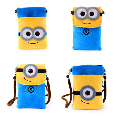 Lovely Minion Small Plush Backpack - minion.store