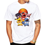 Pokemon Go Men T-shirt Fashion Go Poke Rangers 4 Styles - minion.store