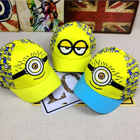 New Minions Cartoon For Minions  Adjustable Caps 3 Styles - minion.store