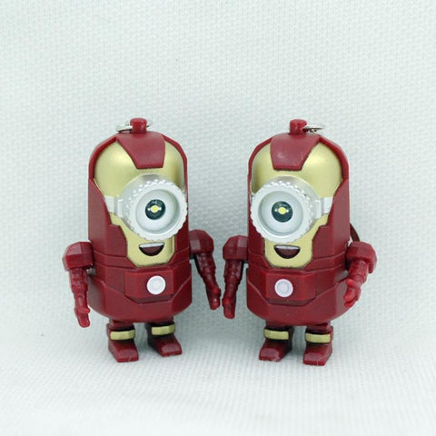 The Avengers Alliance LED Minions Keychain - minion.store