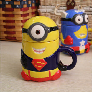 Minions ceramic cup coffee 6 Styles - minion.store