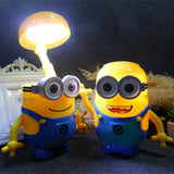 Minions Novelty Baymax Cartoon LED Night Light Baby Roomp - minion.store