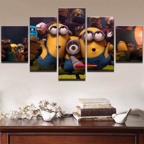 Modern Painting Unframe Home Decoration HD Minions - minion.store