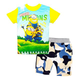Fashion Children Clothing Set Cartoon Minions T-Shirt For Summer - minion.store
