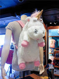 Big Cute Minion Unicorn Plush Backpack - minion.store