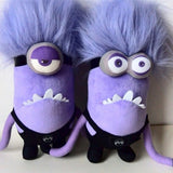 Plush Doll 30cm Mini Minions  Purple 2 Styles - minion.store