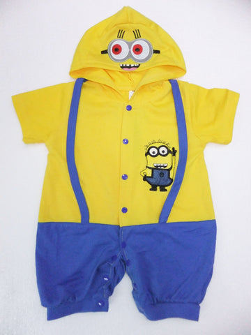 6 months- 2years Party Kids Minions Halloween Costume - minion.store