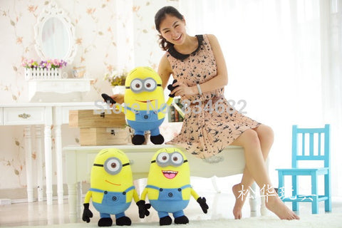 3pcs/set 25CM 3D  Movie Plush Toys 9.8Inch  For Baby Kids Gift - minion.store