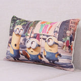 Home Decorative Cushion C Minions Cotton Linen Pillow - minion.store