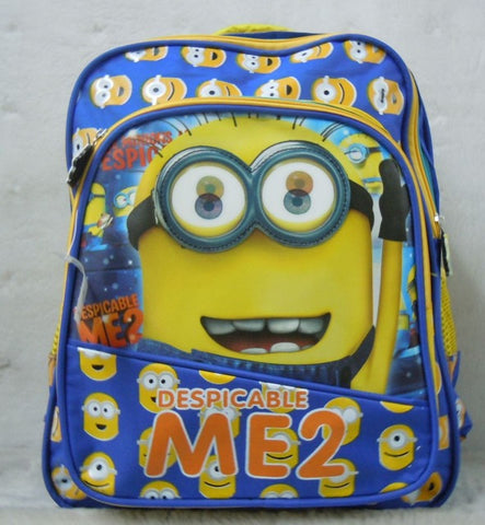 Despicable Me Minion Backpack 2 Styles - minion.store