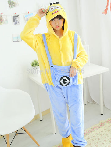 Minion Onesie Cosplay Costume Pajamas - minion.store