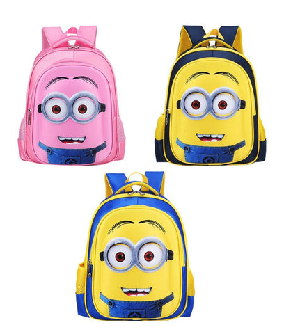 Cute Minions Children's Backpack Boys 3 Styles - minion.store