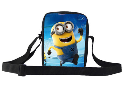 Popular Movie Cartoon Character Minion Shoulder Bag