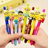 8pcs Kawaii 0.5MM Gel Pen Children Cute Cartoon Minions - minion.store