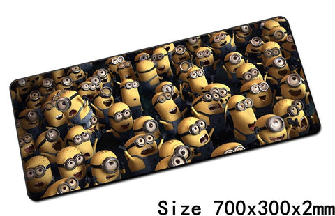 Minions mouse pads 70x30cm 11 Styles - minion.store