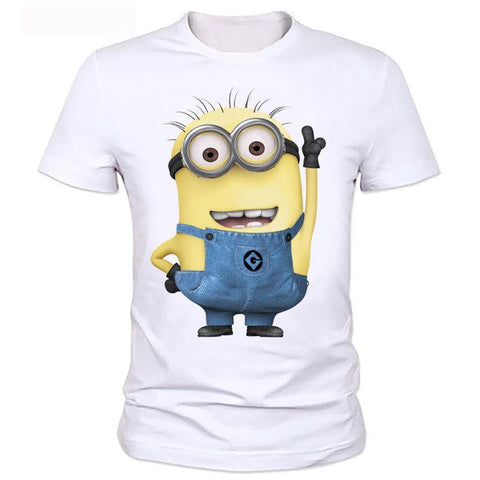 Clothes Men Despicable Minions T-Shirt 6 Styles - minion.store