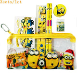 3sets/lot Minion Pencil Case Cute Kids School - minion.store